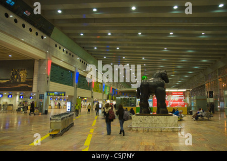 El Prat airport T2 terminal Barcelona Catalunya Spain Europe - Stock Photo