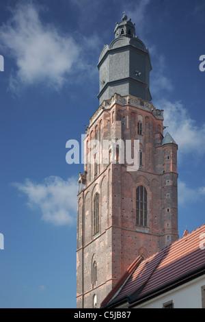 Elisabethenturm, Breslau | Elizabethan tower, Wroclaw - Stock Photo