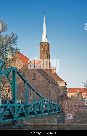 Dominsel Breslau | Wroclaw, Dome Island - Stock Photo