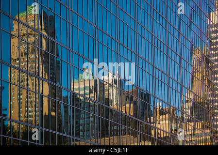 Building abstracts windows - Stock Photo