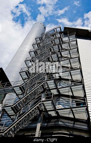 Anlieferung Abfall Fernwarme AG, Zurich, Switzerland