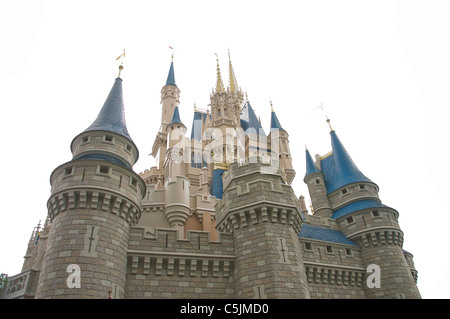 cinderella castle magic kingdom walt disney world orlando florida - Stock Photo