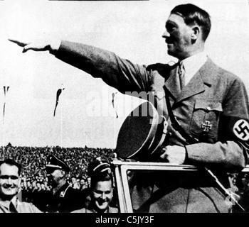 adolf hitler, 1939 - Stock Photo
