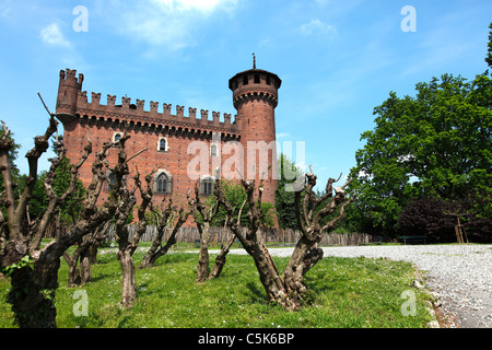 Parco del Valentino, Turin, Italy, Europe - Stock Photo