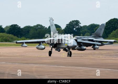 RAF Tornado Jet Bomber - Stock Photo