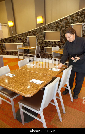 Workers Train for Jobs in Las Vegas Hotels - Stock Photo