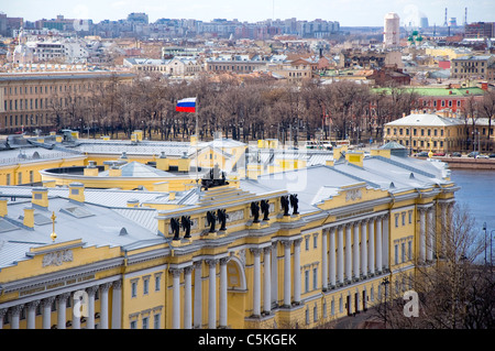 View from Saint Isaac's Cathedral, Saint Petersburg, Russia - Stock Photo