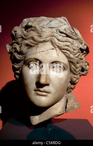 Apollo Greek Greece II cent BC  Roman Perge Perga Turkey - Stock Photo