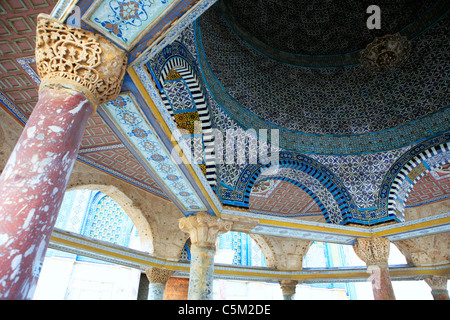Dome of the Rock (685-691), Jerusalem, Israel - Stock Photo