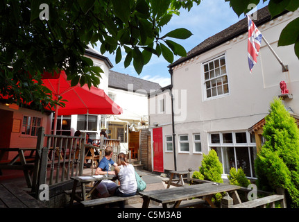 The Red Lion Pub In Picturesque Wealden Village Of Biddenden Kent Stock Photo Royalty Free