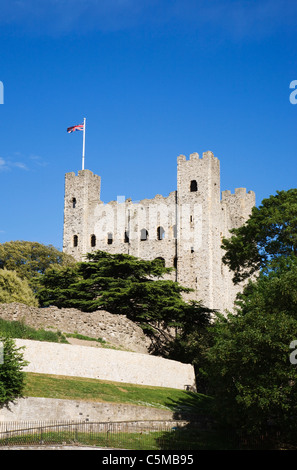 Rochester Castle, Kent, England, UK. - Stock Photo