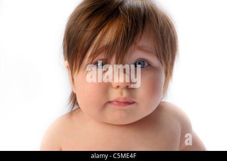 cute adorable baby girl - Stock Photo