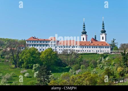 Strahov Monastery, Prague, Bohemia, Czech Republic | Strahov Kloster, Prag, Boehmen, Tschechien oder Tschechische - Stock Photo