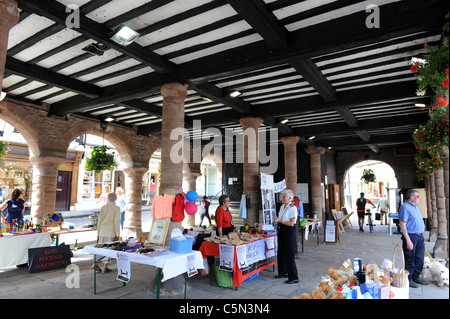 The Market House Ross-on-Wye Herefordshire Uk - Stock Photo