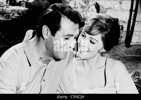 darling lili, julie andrews, rock hudson - Stock Photo