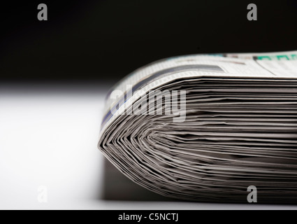 A pile of newspapers - Stock Photo