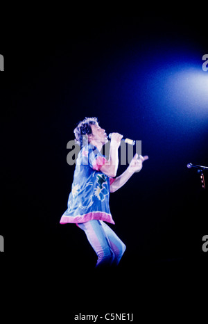 rolling stones, mick jagger - Stock Photo