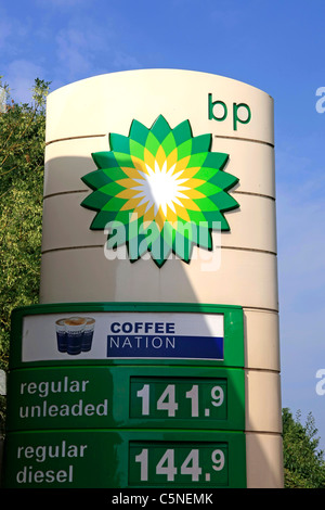 Arco Gas Logo >> BP Petrol Station Sign With Unleaded Petrol and Diesel Fuel Prices Stock Photo, Royalty Free ...