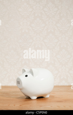 White piggy back - Stock Photo
