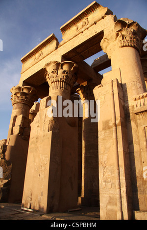 Kom Ombo temple  south of egypt - Stock Photo