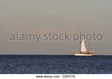 Boat. Images from Poland sea Europe - Stock Photo