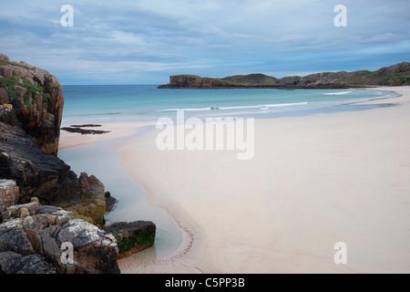 Oldshoremore beach, Sutherland, Highland, Scotland, UK - Stock Photo