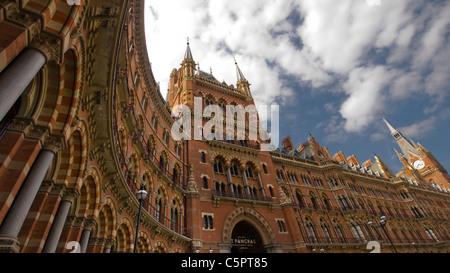 St Pancras Station, London, England - Stock Photo