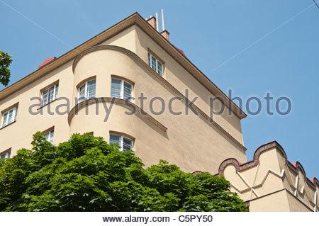 Wien, Gemeindebau Thury-Hof, Viktor Mittag und Karl Hauschka 1925/1926 - Stock Photo