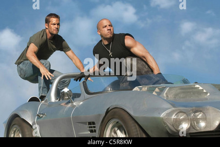 FAST FIVE  2011 Universal film with Vin Diesel at right and Paul  Walker - Stock Photo