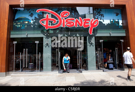 Disney store in Oxford Street, London - Stock Photo