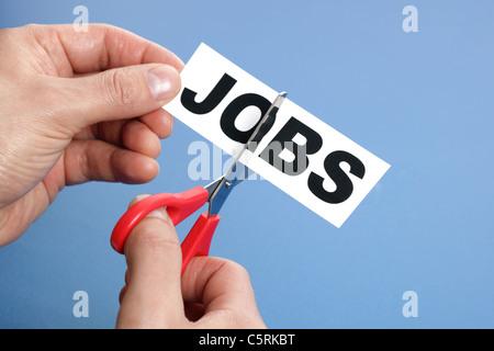 Cutting jobs - Stock Photo