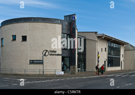 dh Visitor Centre KIRKWALL ORKNEY Kirkwall Travel Centre building uk - Stock Photo