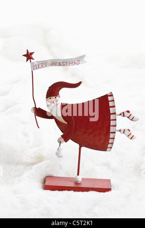 Christmas decoration, Santa Claus Stock Photo