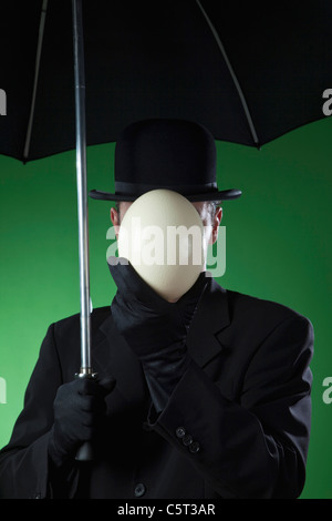 Businessman, man without face - Stock Photo