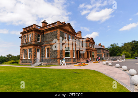Cultra House, in the grounds of the Ulster Folk and Transport Museum, Cultra, Northern Ireland. - Stock Photo