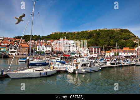 Scarborough Harbour, North Yorkshire - Stock Photo