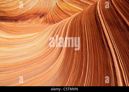 USA, Utah, Coyote Buttes, Wave - Stock Photo