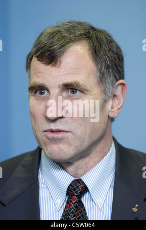 Dafydd Rhys 'Dave' Williams who is a Canadian physician and a retired CSA astronaut. - Stock Photo