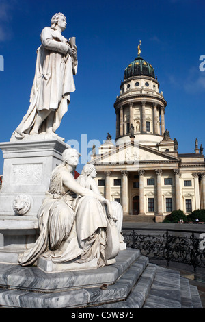 Germany, Berlin, Gendarmenmarkt, French Cathedral - Stock Photo