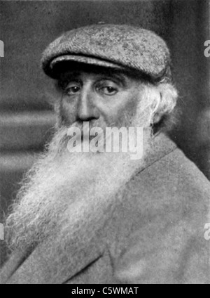 CAMILLE PISSARRO (1830-1903) French Impressionist painter about 1900 - Stock Photo