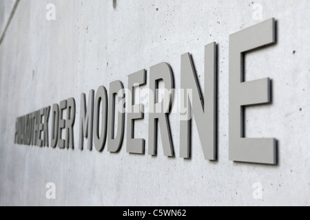 The Pinakothek der Moderne in Munich, Bavaria, Germany. - Stock Photo