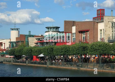 D-Oberhausen, Ruhr area, Lower Rhine, North Rhine-Westphalia, NRW, D-Oberhausen-Neue Mitte, Ruhr 2010, Cultural - Stock Photo