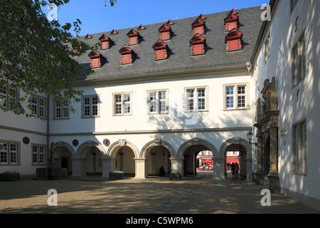 Rathaus in Koblenz, Rheinland-Pfalz, ehemaliges Jesuitengymnasium, Innenhof - Stock Photo