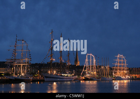 Tall Ships' Races in St Malo (Brittany, France). - Stock Photo