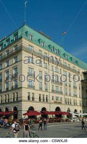 Hotel Adlon Kempinski Berlin - Stock Photo