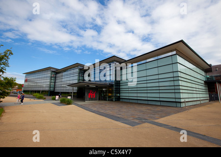 The National Waterfront Museum at Swansea Marina, Wales. - Stock Photo