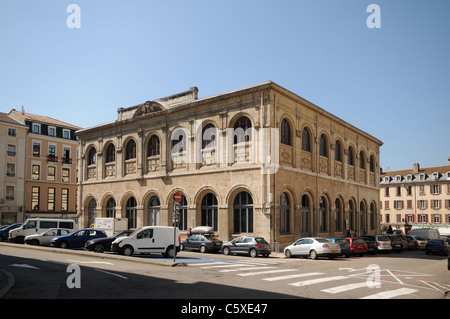 Art Museum or Musee des Beaux Arts et d Archeologie and Municpal Library or Bibliotheque Municipal Vienne France - Stock Photo