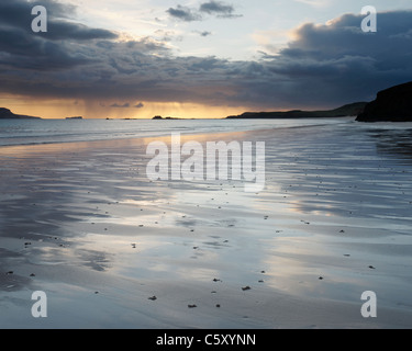 Balnakiel Bay, near Durness, Sutherland, Highland, Scotland, UK. - Stock Photo