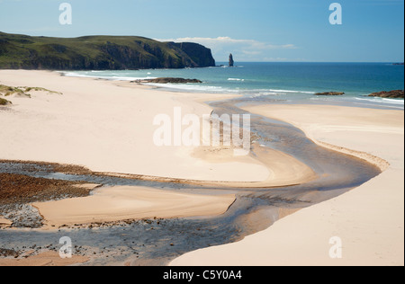 Sandwood Bay, Sutherland, Highland, Scotland, UK. - Stock Photo