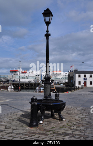 Lantern in the town of Stromness, Mainland, Orkney, Scotland. - Stock Photo
